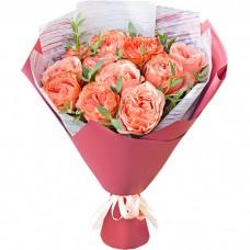 Букет Кахала из 11 роз